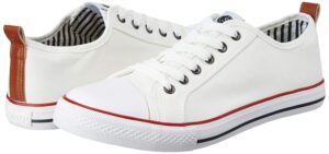 Amazon Brand - Symbol Men's White Sneakers