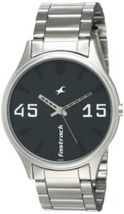 stainless steel fastrack watch