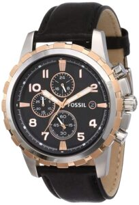 best chronograph watch by fossil