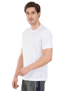 Crew neck white t shirt