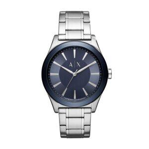 armani exchange metallic watch