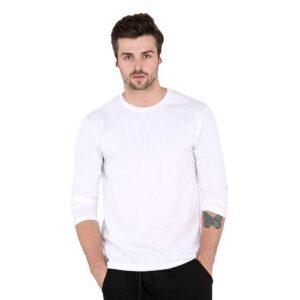 full sleeve white t shirt