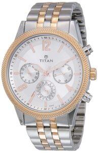 titan metal watch