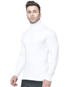 men's turtle neck t shirt